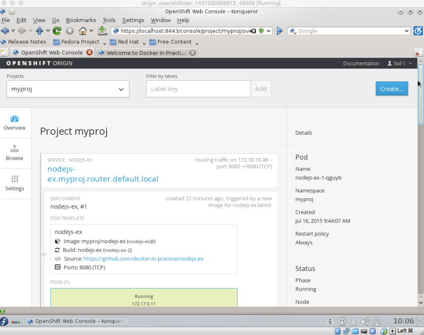 OpenShift_running